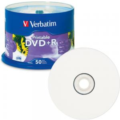 Verbatim 95136  DVD+R 4.7GB 50Pack White Inkjet Spindle